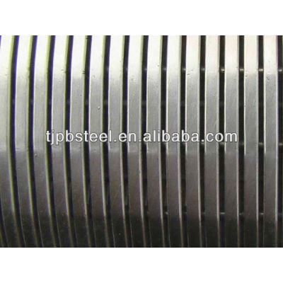 Compressive strength two layers pipe base screen/water well screen for 20 years Manufacture