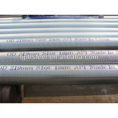 Johnson screens stainless steel pipe based well screen