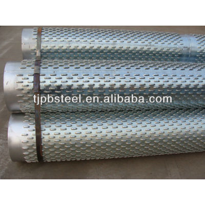 strainer pipe/slotted casing pipe/slotted pipe for water well