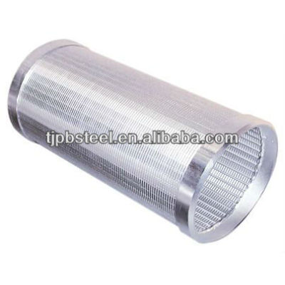 Carbon and stainless steel perforated casing pipe