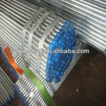 Galvanized steel pipe BS1387 for transmission of gas