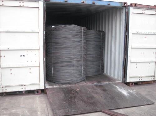 SAE1008B mild steel wire rod 6.5mm