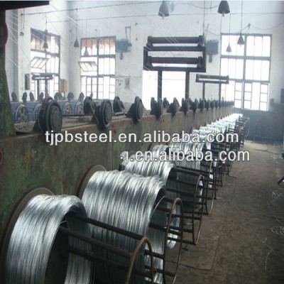 galvanized steel wire 8gauge 16gauge with 7/16
