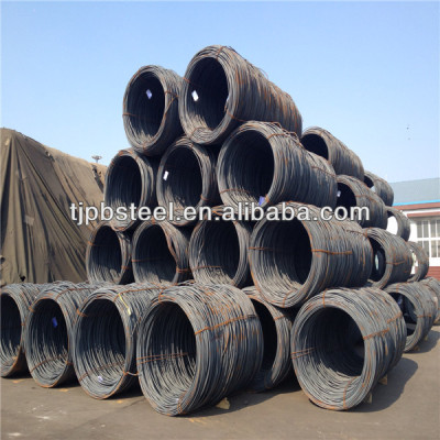 SAE 1008 hot rolled steel wire rod in coil