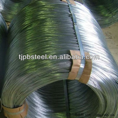 hot dipped galvanized steel wire Q195 Q235 material