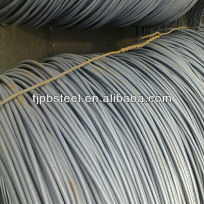 galvanized steel wire rod in coils