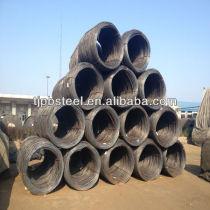 Low Carbon MS steel wire rod 5.5,6.5,7,8,9,10,11,12mm