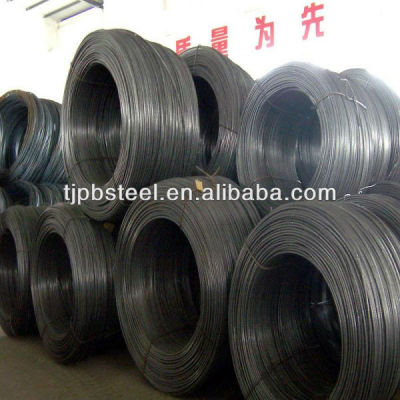 low carbon steel wire rod in coil with good quality on ALIBABA/steel wire rod