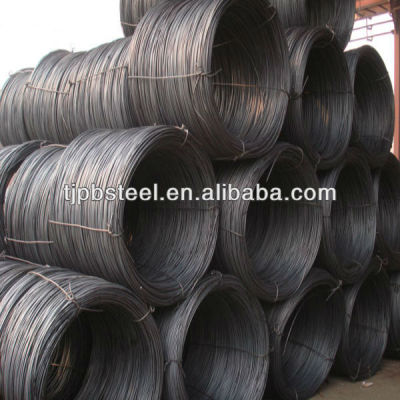 5.5mm steel wire rod in coils/sae 1006 sae1008 q195 q235/high quality low price