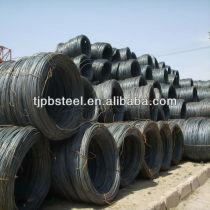 5.5mm-14mm high quality steel wire rod Q195,Q235,SAE1008B