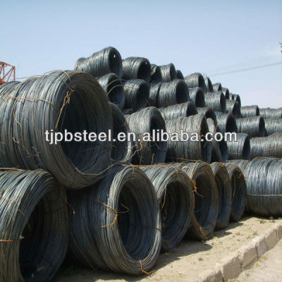 5.5mm-14mm high quality steel wire rod Q195,Q235,SAE1008B