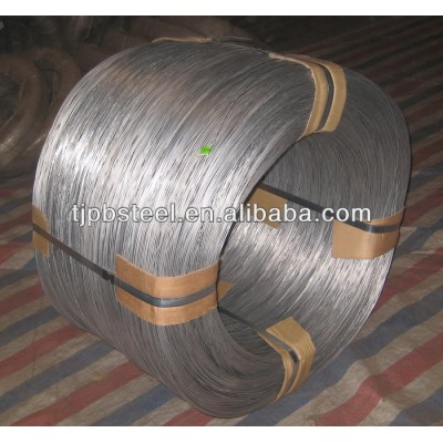 galvanized steel wire 2.0mm high tensile strength galvanized steel wire