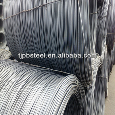 SAE 1006 hot rolled steel wire rod in coil