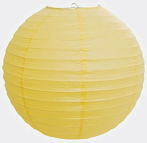 Китайский фонарик из бумаги круглый