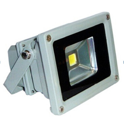 LED floodlight 10W With Bridgelux high lumen output IP65 waterproof for building playing field