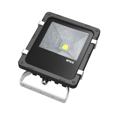 10W LED floodlight With Bridgelux high lumen output IP65 waterproof for building and playing field