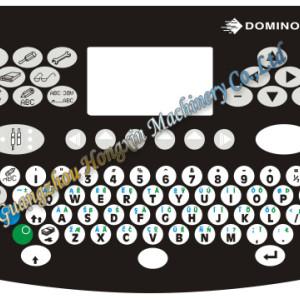 Industrial inkjet keyboard English Arabic language  for Domino A100 A200 inkjet pinter