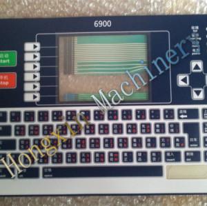 Linx inkjet keyboards 6900