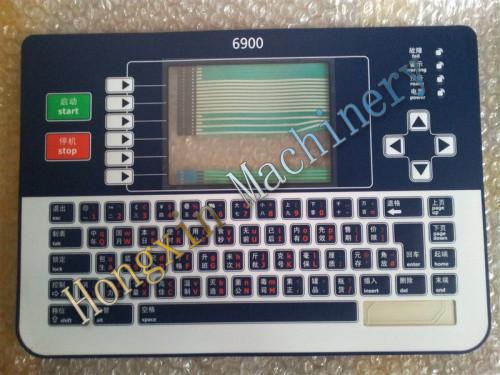 Linx inkjet keyboards 6800