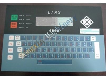 linx 4800 teclado fa72142 cij para la codificación de inyección de tinta de la impresora