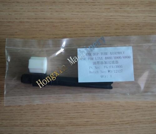 de tinta linx tubo de inmersión corto fa13004 cij para la codificación de inyección de tinta de la impresora
