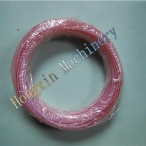 Domino 98206 ptfe tubo rojo stripe680+10 615-10 mm mm mm 100