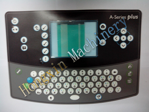 Domino da1-0160400sp un plus de la serie para teclado de inyección de tinta cij de codificación de la impresora
