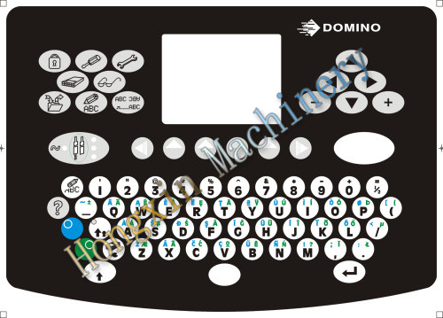 domino 36675 para teclado de inyección de tinta cij de codificación de la impresora