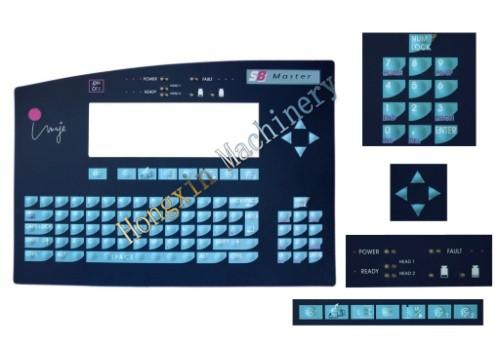 imaje enm19618 s8 teclado para la impresora láser