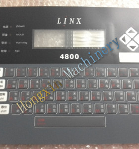 linx printer 4800 keyboard