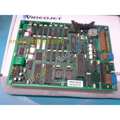 200-0430-271 videojet 43s CPU board with 3 battery