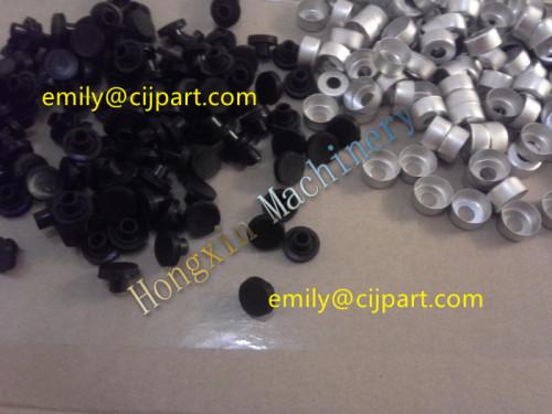 cover & rubber  for Imaje inkjet bottle 800ML