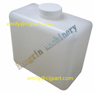 Domino inkjet bottle 1L with tube