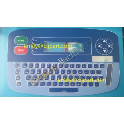 linx inkjet 4900 keyboard