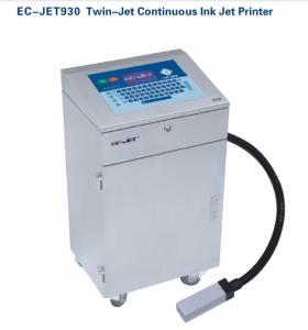 EC-JET930 Twin-jet Continuous Ink jet Printer