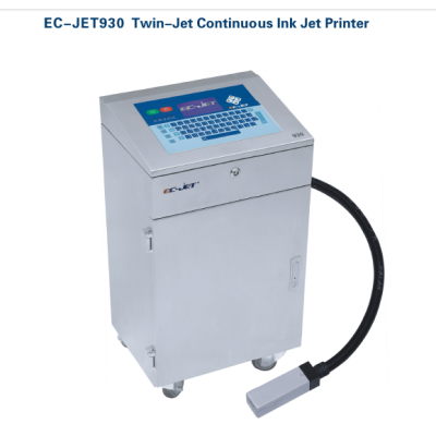 EC-JET930 Twin-jet Continuous Ink jet Printer