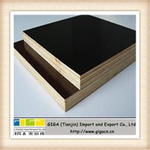 Giga mm waterproof black laminated board for