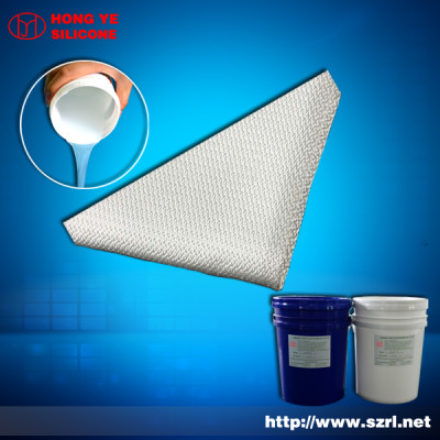 Silicon Ink for Screen Printing of Textile Coating