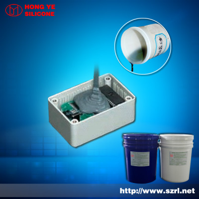 Electronic Potting Compounds grey Silicone Rubber for electronics