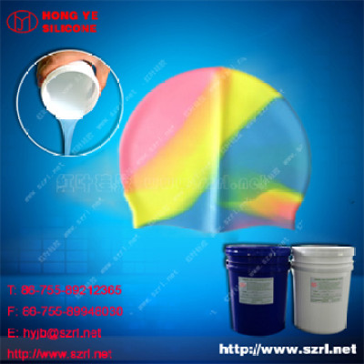 Transparent Silicone for Silicone Printed swiming caps