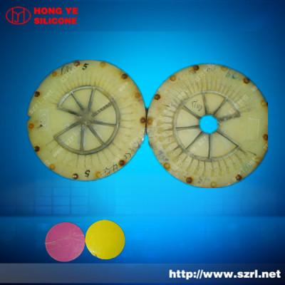 HTV silicone for high temperature zinc alloy