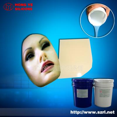 Addition cure liquid silicone rubber for Lifecasting