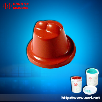 RTV silicone rubber for printing on plastic toys