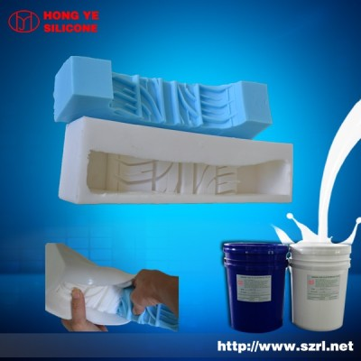 real manufacture of tire mould making silicone rubber