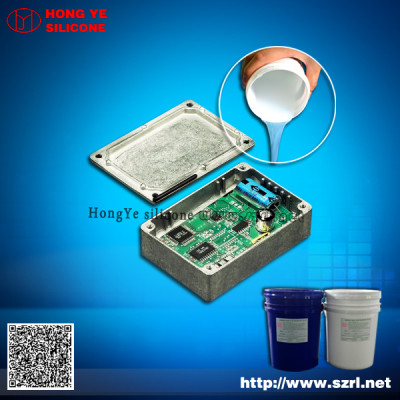 Waterproof addition cure silicone rubber for electronic equipment