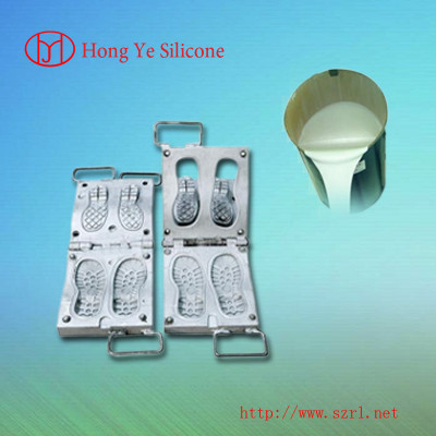 Hot product silicone rubber for shoe mold making