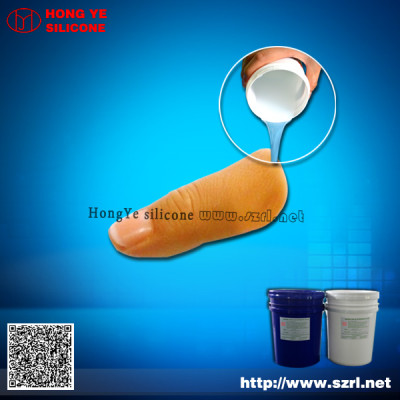 liquid Platinum cure silicone rubber for simulation human organ