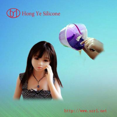 life casting liquid silicone rubber for artificial silicone body organs