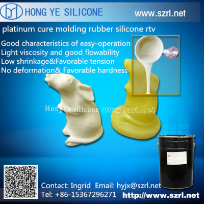 Cake mold making silicone rubber