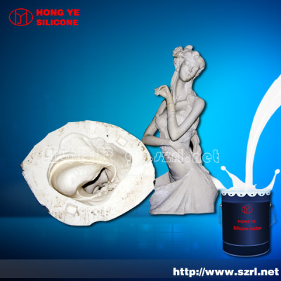 Mould making liquid silicone rubber for statue molds